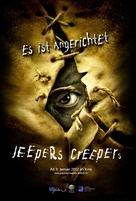 Jeepers Creepers - German Movie Poster (xs thumbnail)