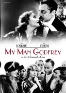My Man Godfrey - French DVD cover (xs thumbnail)