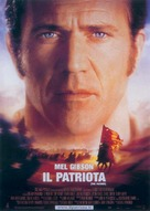 The Patriot - Italian Theatrical movie poster (xs thumbnail)