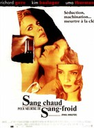 Final Analysis - French Movie Poster (xs thumbnail)