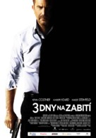 Three Days to Kill - Czech Movie Poster (xs thumbnail)