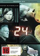"""24"" - New Zealand DVD movie cover (xs thumbnail)"