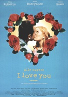 Everyone Says I Love You - German Movie Poster (xs thumbnail)