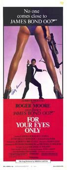 For Your Eyes Only - Australian Theatrical poster (xs thumbnail)