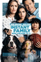 Instant Family - Danish Movie Poster (xs thumbnail)