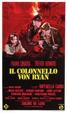 Von Ryan's Express - Italian Movie Poster (xs thumbnail)