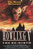 Howling V: The Rebirth - British Movie Poster (xs thumbnail)