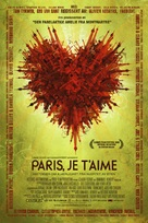 Paris, je t'aime - Norwegian Movie Poster (xs thumbnail)