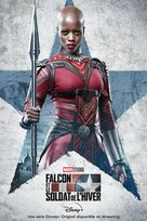 """""""The Falcon and the Winter Soldier"""" - French Movie Poster (xs thumbnail)"""