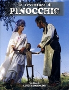 """Avventure di Pinocchio, Le"" - Italian DVD movie cover (xs thumbnail)"