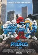 The Smurfs - Spanish Movie Poster (xs thumbnail)