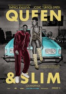 Queen & Slim - Mexican Movie Poster (xs thumbnail)