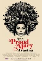 Proud Mary - Romanian Movie Poster (xs thumbnail)