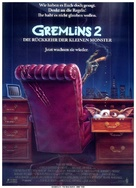Gremlins 2: The New Batch - German Movie Poster (xs thumbnail)