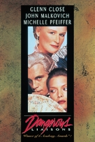 Dangerous Liaisons - DVD movie cover (xs thumbnail)