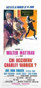 Charley Varrick - Italian Movie Poster (xs thumbnail)