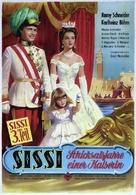 Sissi - Schicksalsjahre einer Kaiserin - German Movie Poster (xs thumbnail)