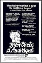 Mon oncle d'Amérique - Movie Poster (xs thumbnail)