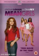 Mean Girls - British DVD cover (xs thumbnail)