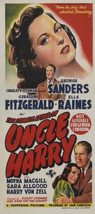 The Strange Affair of Uncle Harry - Australian Movie Poster (xs thumbnail)