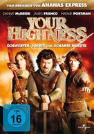 Your Highness - German DVD cover (xs thumbnail)