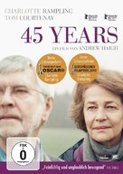 45 Years - German DVD movie cover (xs thumbnail)