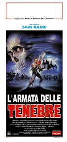 Army Of Darkness - Italian Theatrical movie poster (xs thumbnail)