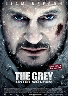 The Grey - German Movie Poster (xs thumbnail)