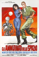 Mutiny in Outer Space - Italian Movie Poster (xs thumbnail)
