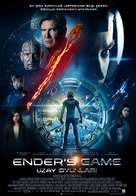 Ender's Game - Turkish Movie Poster (xs thumbnail)
