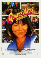 La boum 2 - Spanish Movie Poster (xs thumbnail)
