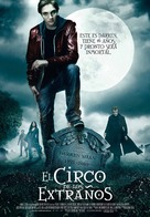 Cirque du Freak: The Vampire's Assistant - Spanish Movie Poster (xs thumbnail)
