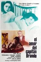 Amor del capitán Brando, El - Mexican Movie Poster (xs thumbnail)