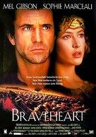 Braveheart - German poster (xs thumbnail)