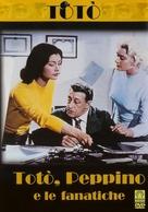 Totò, Peppino e le fanatiche - Italian DVD cover (xs thumbnail)