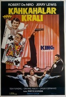 The King of Comedy - Turkish Movie Poster (xs thumbnail)