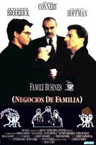Family Business - Spanish Movie Poster (xs thumbnail)