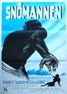 The Abominable Snowman - Swedish Movie Poster (xs thumbnail)