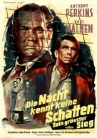 Fear Strikes Out - German Movie Poster (xs thumbnail)