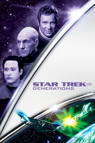 Star Trek: Generations - DVD cover (xs thumbnail)