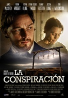 The Conspirator - Spanish Movie Poster (xs thumbnail)