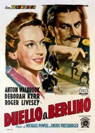 The Life and Death of Colonel Blimp - Italian Movie Poster (xs thumbnail)