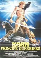 The Beastmaster - Italian Movie Poster (xs thumbnail)
