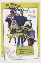 Bud Abbott Lou Costello Meet Frankenstein - Re-release movie poster (xs thumbnail)
