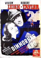 Waterloo Bridge - Swedish Movie Poster (xs thumbnail)
