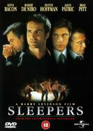 Sleepers - British DVD movie cover (xs thumbnail)