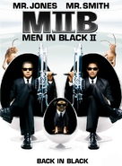 Men in Black II - DVD movie cover (xs thumbnail)