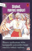 The Golden Voyage of Sinbad - Finnish VHS movie cover (xs thumbnail)