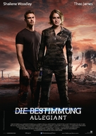 The Divergent Series: Allegiant - German Movie Poster (xs thumbnail)