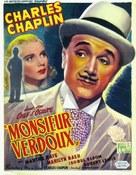 Monsieur Verdoux - Belgian Movie Poster (xs thumbnail)